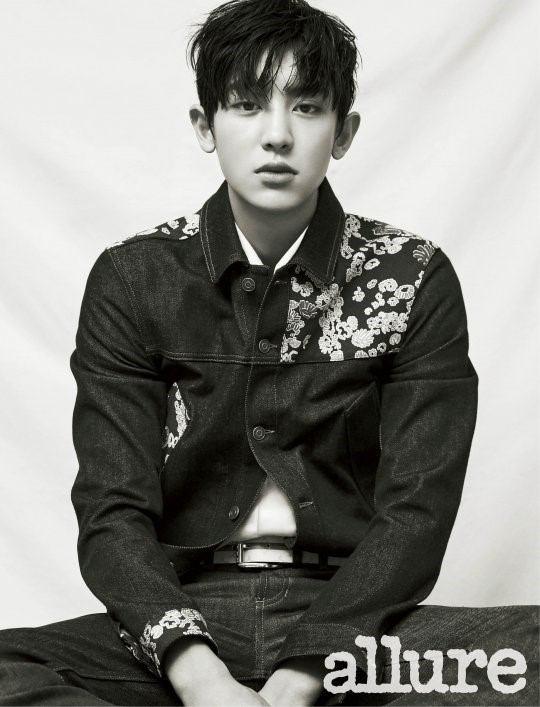 عکس Chanyeol عضو گروه کره ای اکسو EXO برای مجله ی allure