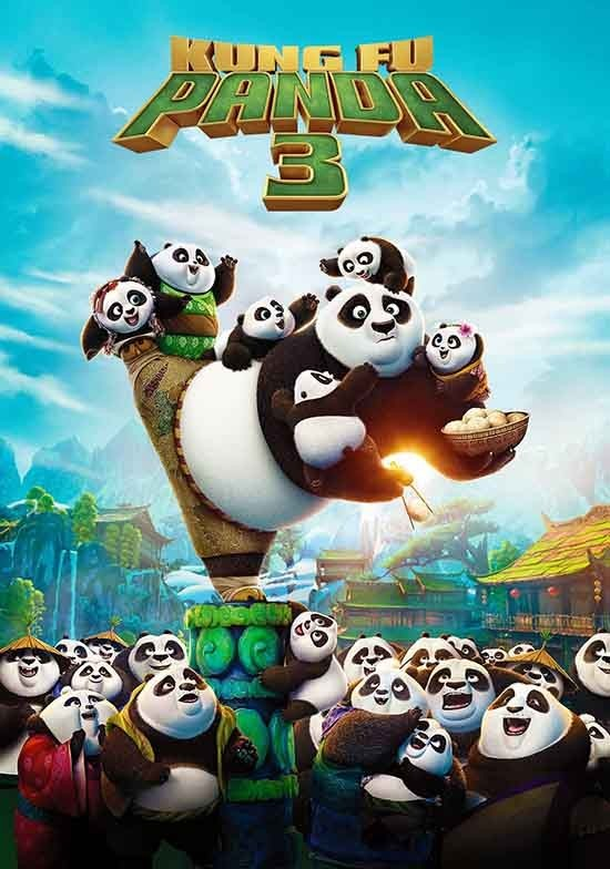 دانلود دوبله فارسی انیمیشن Kung Fu Panda 3 2016
