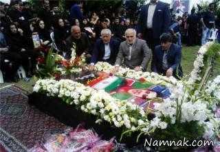 مراسم هفتم مهرداد اولادی در قادیکلای قائم شهر + تصاویر