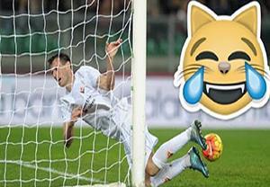 سوتی های وحشتاک و خنده دار در فوتبال