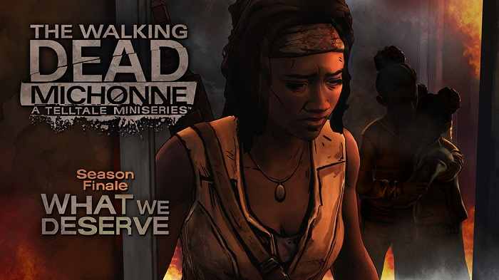 دانلود بازی The Walking Dead Michonne