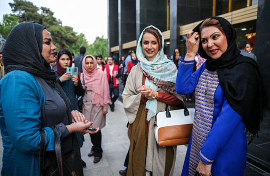 تیپ خانم های بازیگر در اختتامیه جشنواره جهانی فیلم فجر +تصاویر