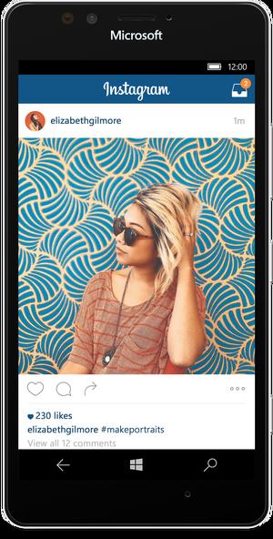 نسخه نهایی اینستاگرام برای ویندوز 10 موبایل منتشر شد