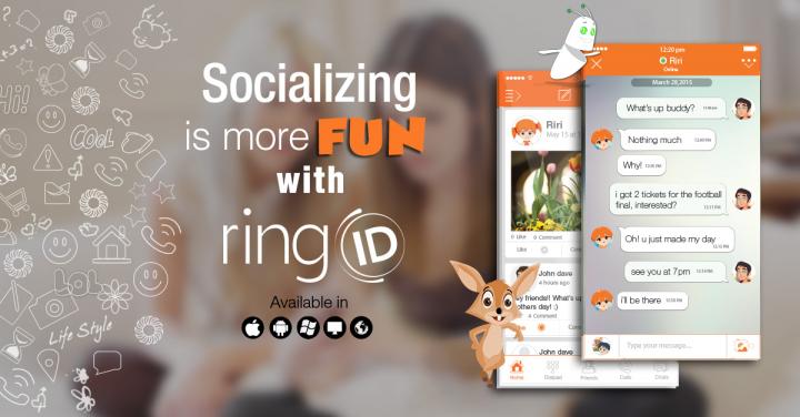 ringID- Free Video Call & Chat