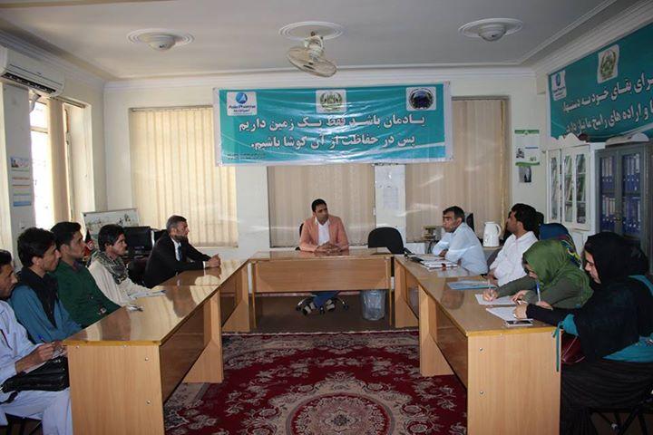 نشستی با مسوولان ادارات حفظ محیط زیست، کار،اموراجتماعی ،شهداومعلولین و شهرسازی هرات