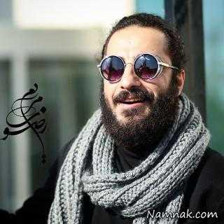 نوید محمدزاده و بادیگاردش در کانادا + عکس
