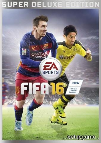 دانلود بازی فیفا ۱۶ – FIFA 16 برای PCبه همراه کرک و آموزش کرک کردن بازی برای اولین بار