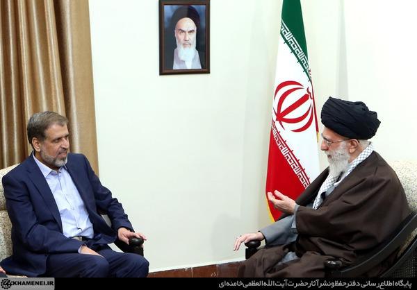 دیدار دبیرکل جهاد اسلامی فلسطین با رهبر انقلاب