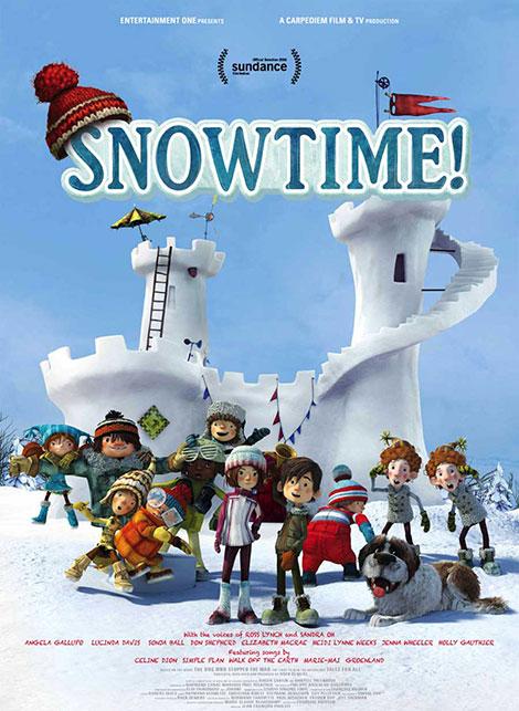 دوبله پارسی انیمیشن کمدی وقت برف