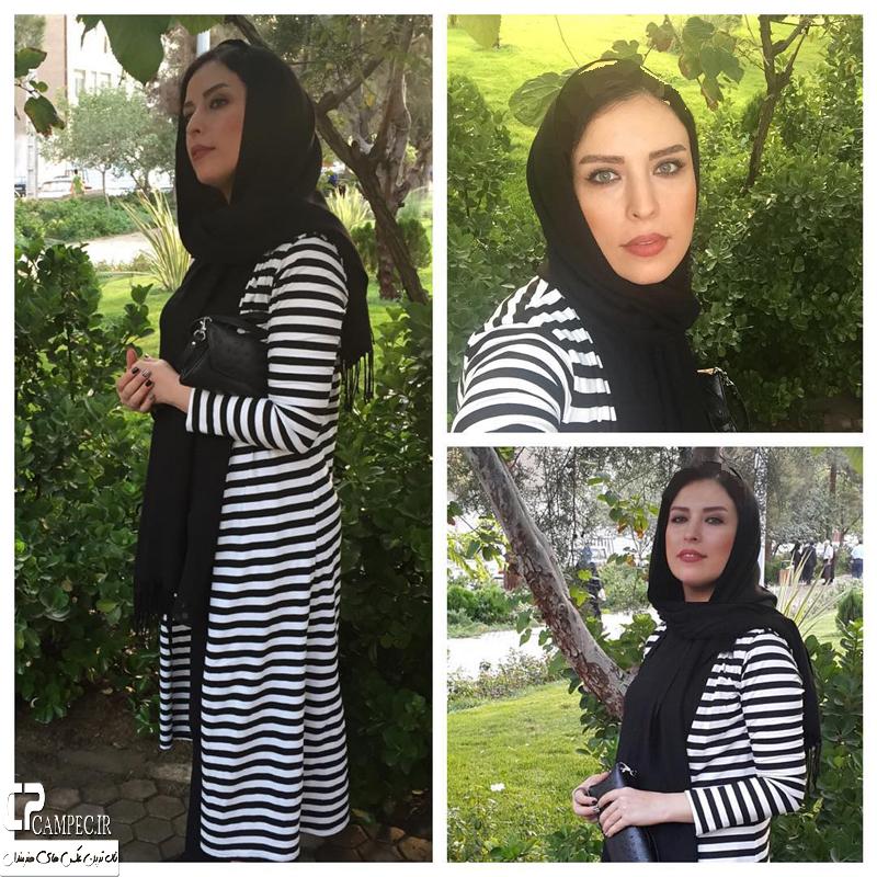 عکس های جدید لادن سلیمانی و دخترش هانیه غلامی