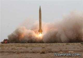 تست موشک بالستیک با برد 2 هزار کیلومتر در ایران