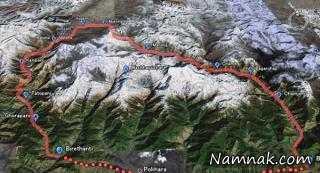 آناپورنا زیباترین مسیر راهپیمایی در هیمالیا + تصاویر