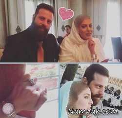 مراسم ازدواج شیما محمدی بازیگر سینما + عکس