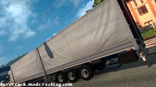 دانلود تریلر چادری زیبای tonar برای یورو تراک