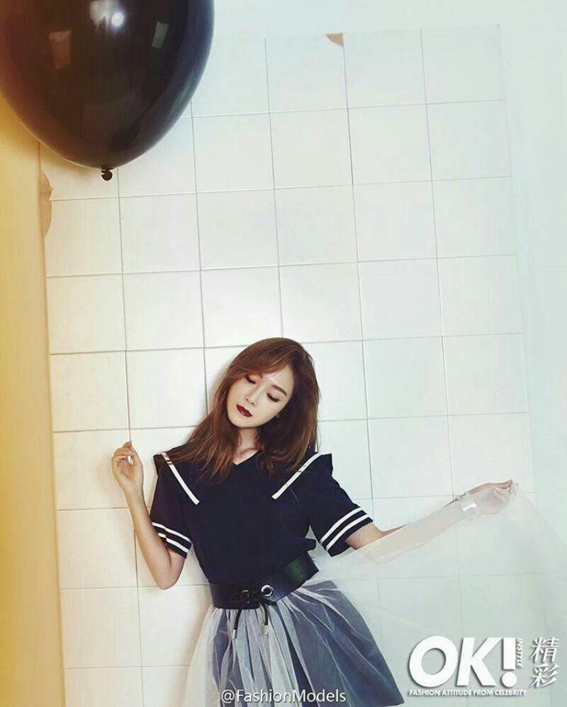 عکس جدید خواننده کره ای جسیکا برای مجله ok
