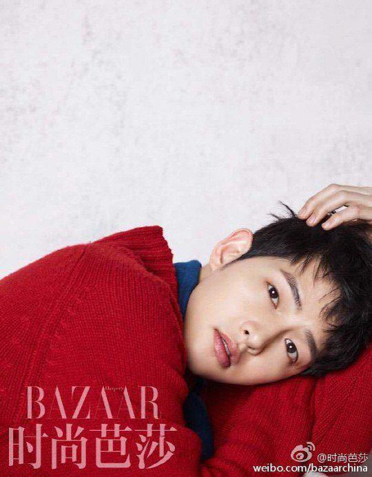 عکس جدید سونگ جونگ کی برای مجله ی BAZAR چین