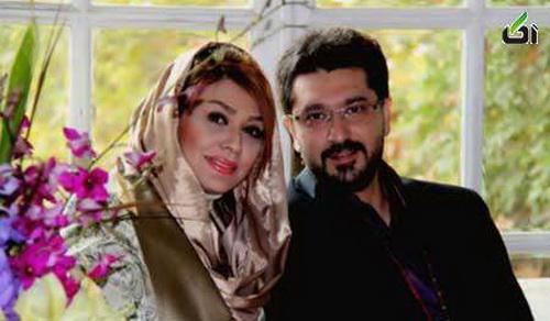 امیر حسین مدرس و همسرش + تصاویر