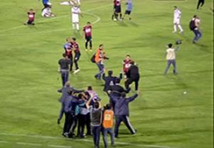 جشن سیاه جامگان بعد از بقا در لیگ برتر