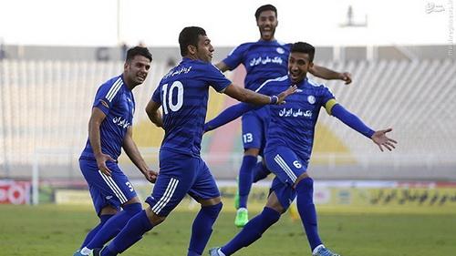 استقلال خوزستان 2-0 ذوب آهن/ اکران قهرمانی لستر در اهواز