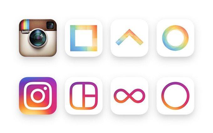 تغییرات جدید در لوگوی اینستاگرام