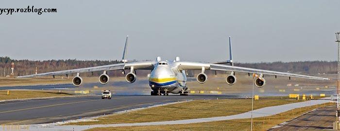 تصاویری از بزرگ ترین و سنگین ترین هواپیمای ترابری جهان