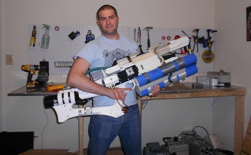 ساخت اسلحه ریلگان با پرینتر سه بعدی