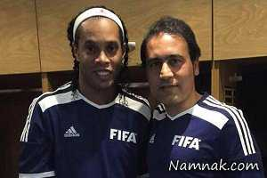 بازی فوتبال مهدوی کیا با ستارگان زن! + عکس