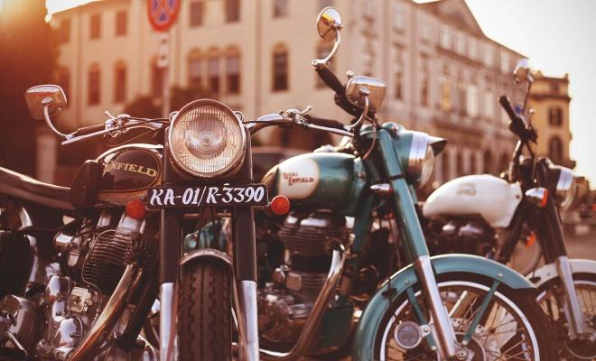 تصویر زیبای موتور سیکلت