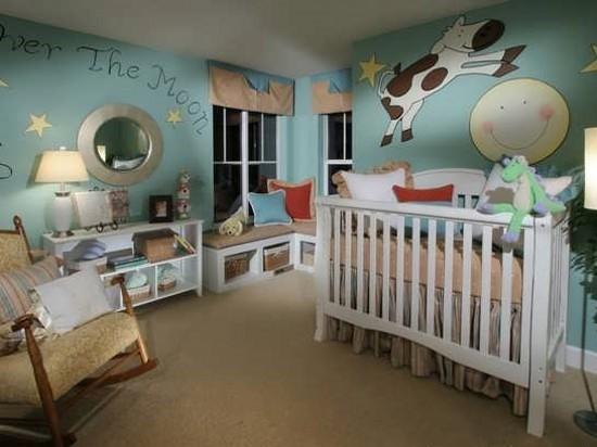 مدل شیک و مدرن طراحی اتاق خواب کودک 2016