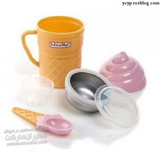 لیوان جادویی بستنی ساز مجیک