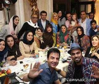 جشن تولد بهنوش بختیاری با حضور بازیگران مشهور + عکس