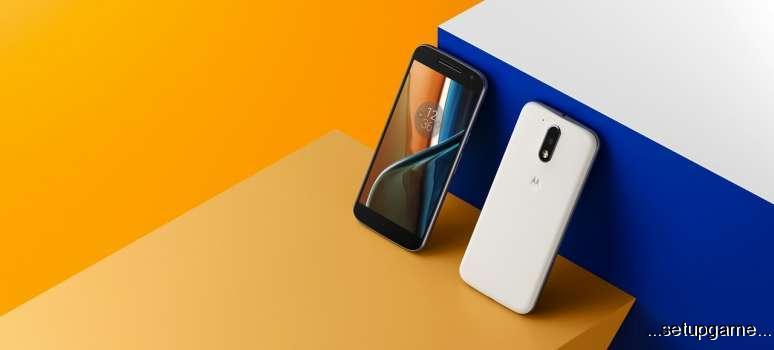 لنوو رسما از دو گوشی میان رده ی Moto G4 و Moto G4 Plus رونمایی کرد