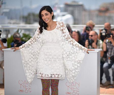 مدل لباس گلشیفته فراهانی