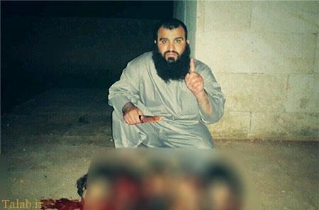 جلاد داعش اسیر شد+تصاویر