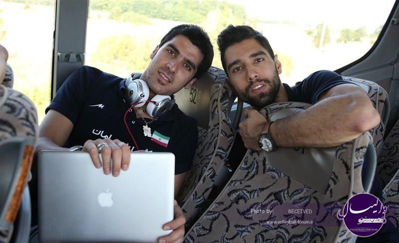 محمد موسوی و شهرام محمودی