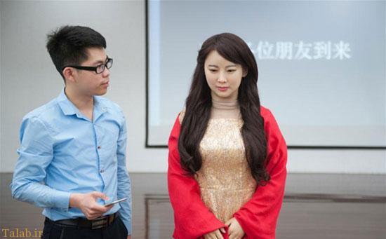 ساخت رباتی در چین که بیشترین شباهت را به انسان دارد