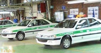 پژو405 ماشین پلیس ترکمنستان شد+تصاویر