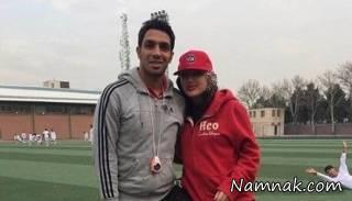 سالروز آشنایی سپهر حیدری و همسرش! + عکس