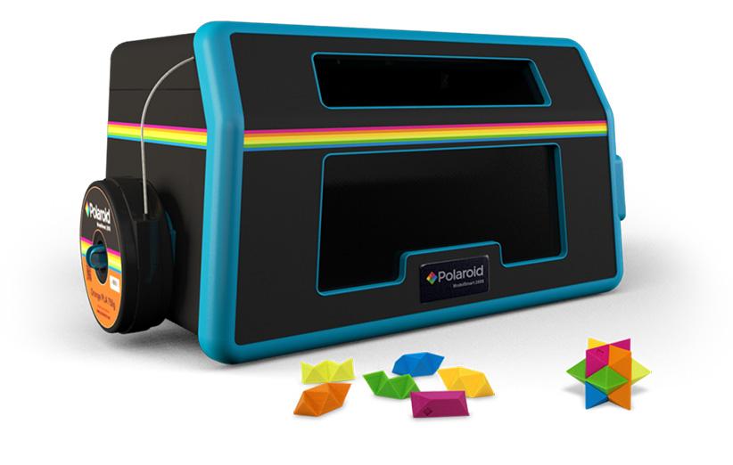 پرینتر سه بعدی ModelSmart 250S از شرکت Polaroid
