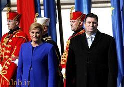 تصاویری از شوهر رئیس جمهور کرواسی