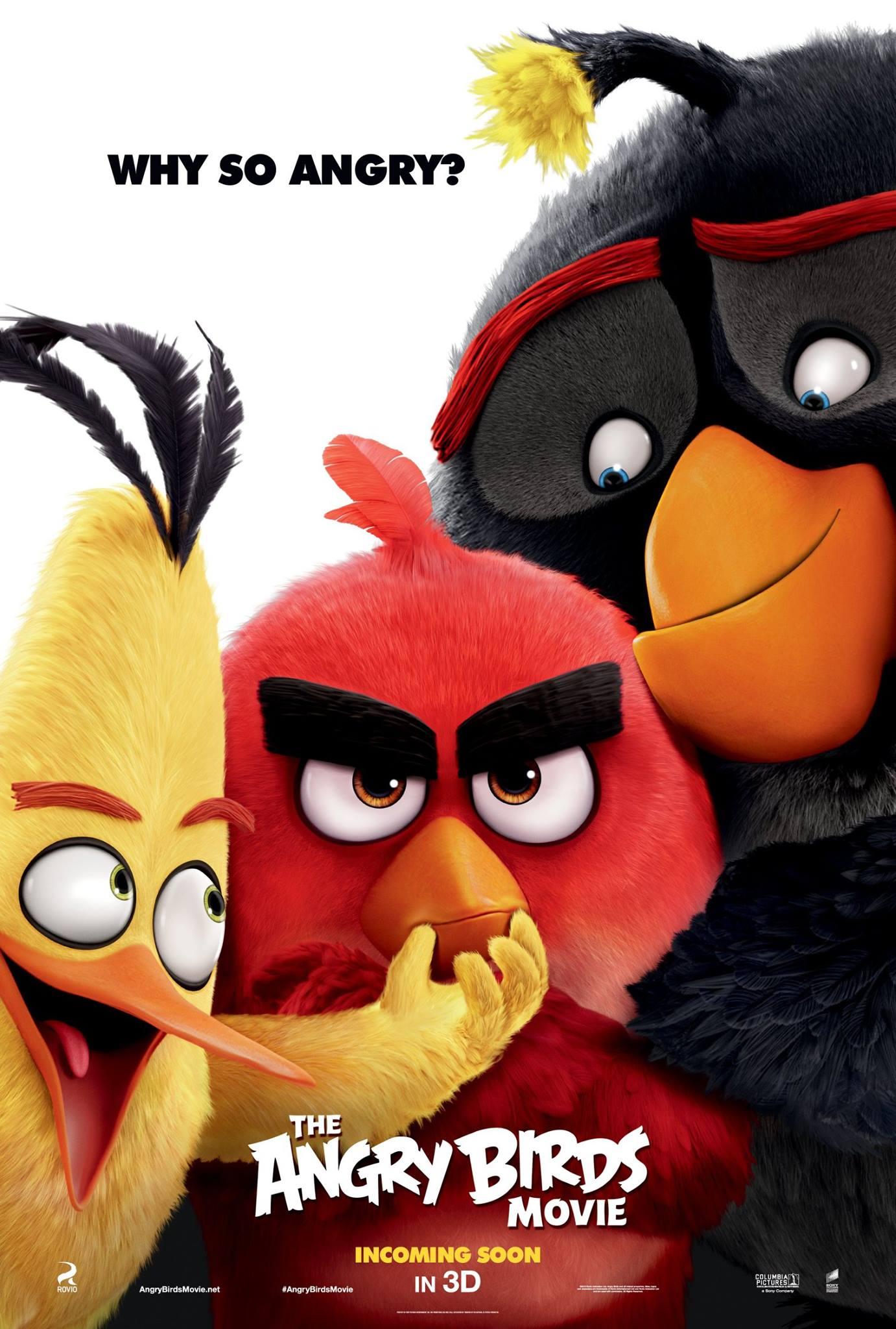 دانلود انیمیشن Angry Birds 2016 با لینک مستقیم