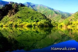 جاذبه گردشگری دریاچه مارمیشو ارومیه + تصاویر