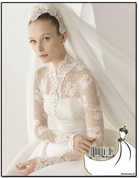 مدل لباس عروس پوشیده - بخش اول