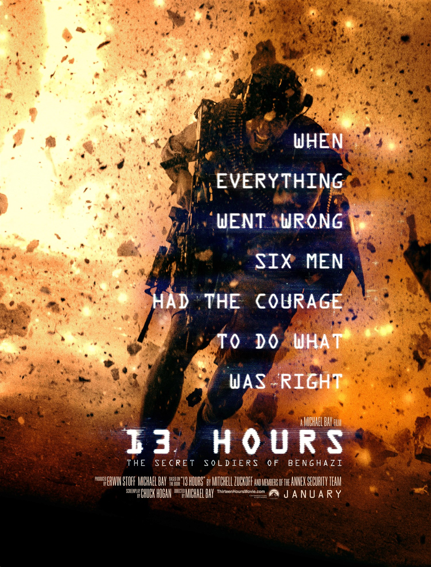 دانلود فیلم 13Hours: The Secret Soldiers of Benghazi 2016