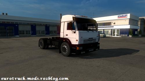 دانلود کامیون فوق العاده کاماز 5460 برای یورو تراک
