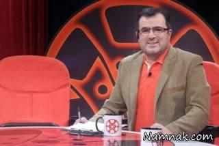 بستری محمود گبرلو مجری هفت در بیمارستان + عکس