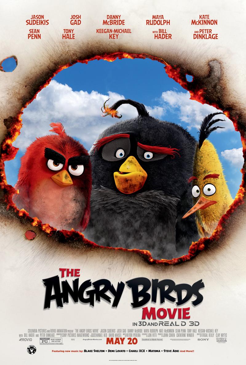 فیلم Angry Birds محوصول 2016 فنلاند و امریکا
