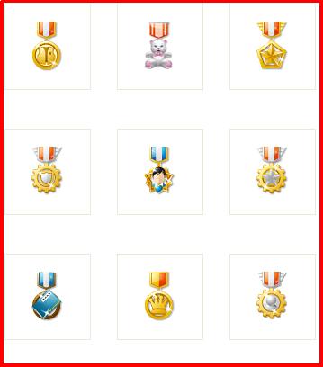 دانلود پک مدال برای سیستم مدال دهی
