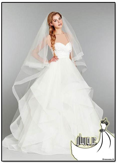 مدل لباس عروس پفی - بخش اول