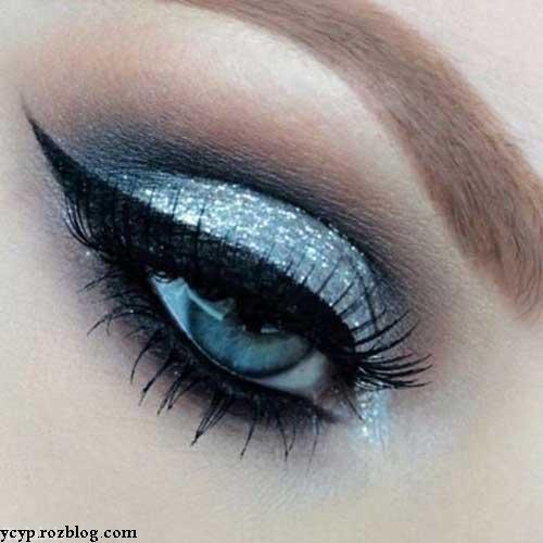 مدل های جدید و بی نظیر آرایش زمستانی چشم